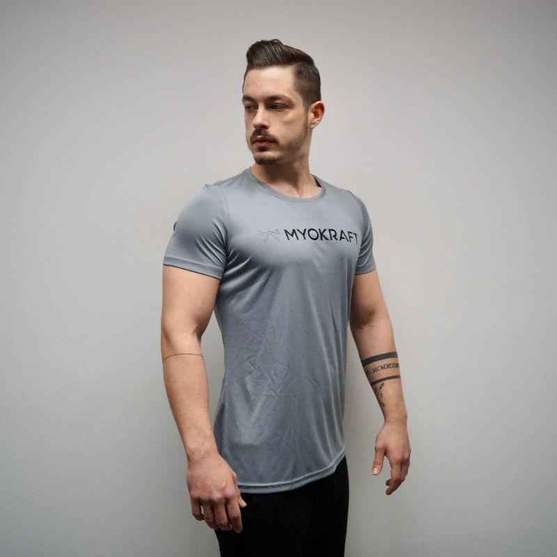 T-Shirt Herren Anthrazit