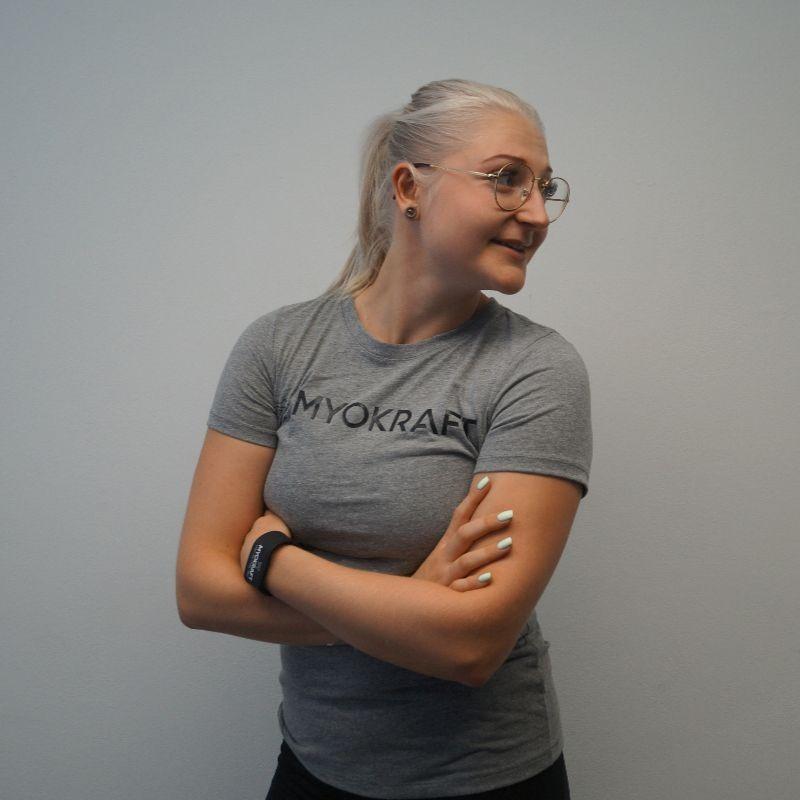 T-Shirt Damen Anthrazit – neue Kollektion