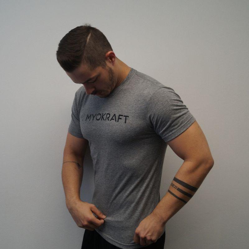 T-Shirt Herren Anthrazit – neue Kollektion